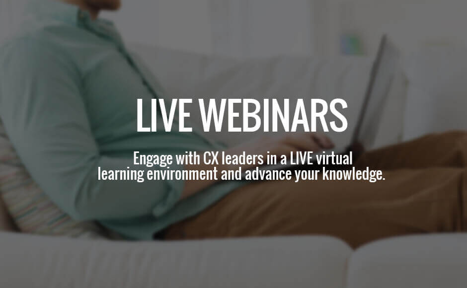 Customer Experience Consultancy Webinars