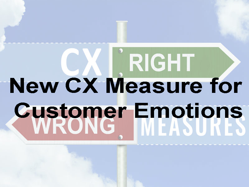 New Customer Experience Measure for Customer Emotions White Paper