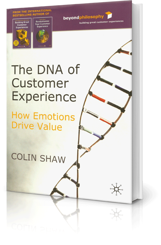 The DNA of Customer Experience Book
