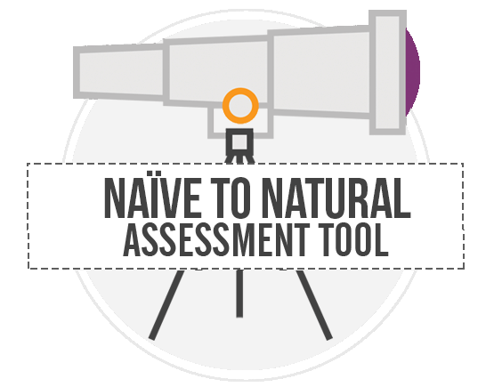 Naive to natural assessment tool
