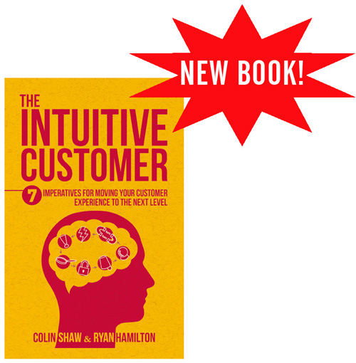 The Intuitive Customer book by Colin Shaw and Ryan Hamilton