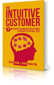 The Intuitive Customer by leading CX speaker Colin Shaw