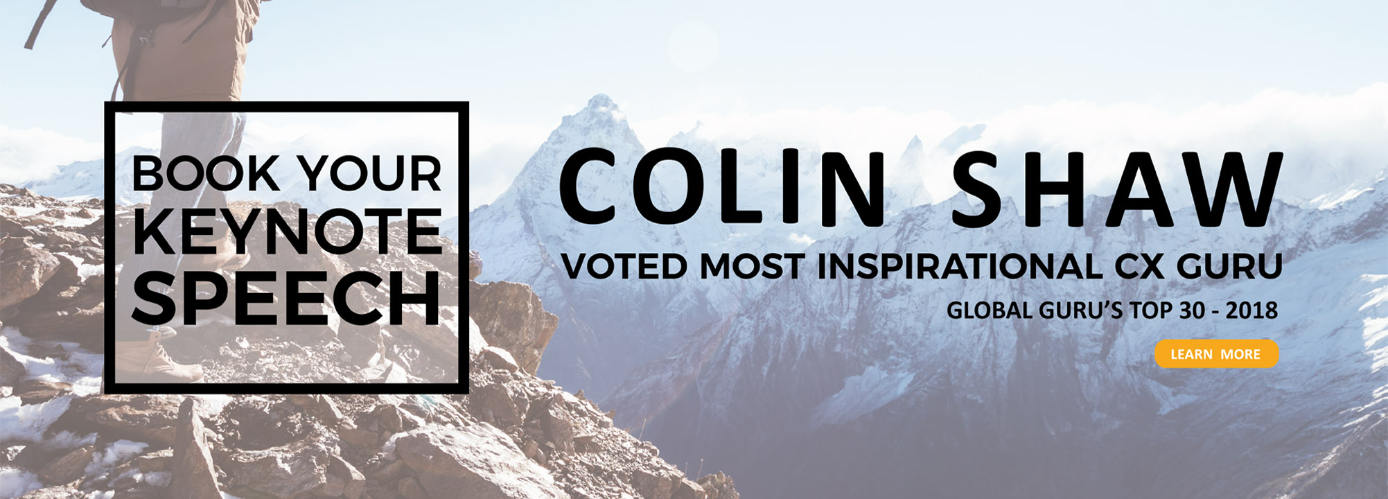 Voted most inspirational CX consultancy