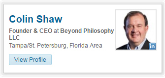 Colin Shaw -Founder & CEO at Beyond Philosophy