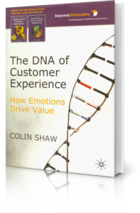 DNA of customer Experience book by Colin Shaw