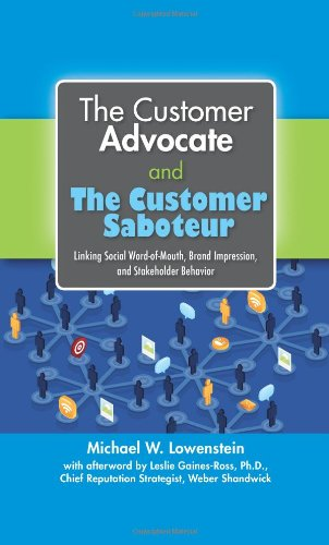 THE CUSTOMER ADVOCATE AND THE CUSTOMER SABOTEUR