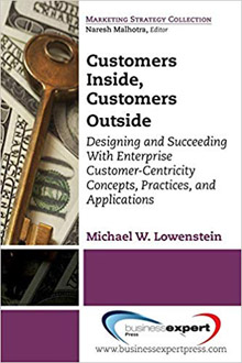 customers inside, customers outside book